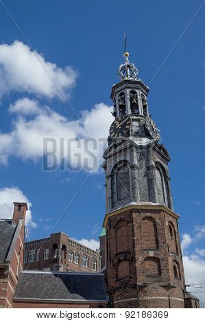The Munttoren Tower In Amsterdam