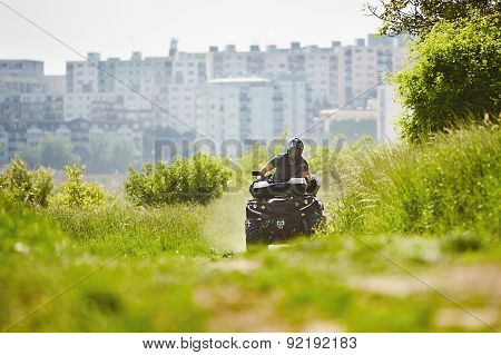 All Terrain Vehicle Rider