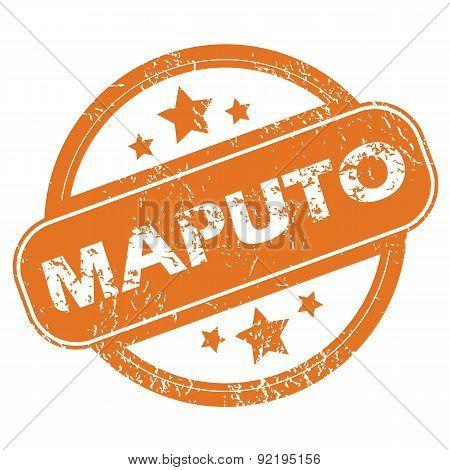 Maputo round stamp