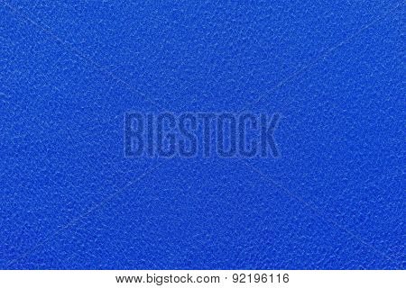 Abstract Texture Fleecy Fabric Of Blue Color