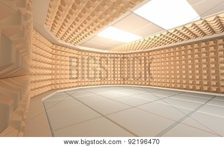 Soundproof room