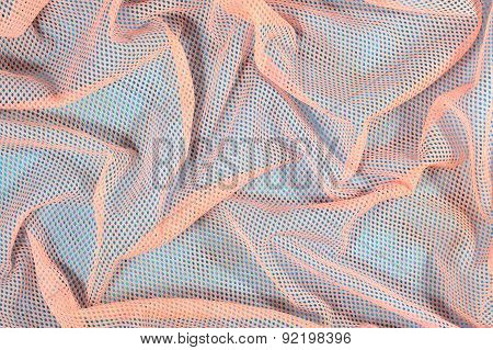 Crumpled Nonwoven Fabric Background