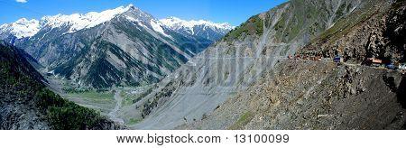 Panorama Ladakh-Landschaft