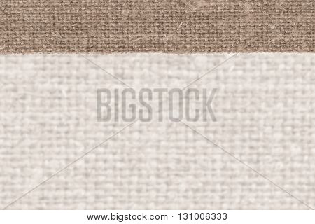 Textile tarpaulin fabric fashion almond canvas obsolete material closeup background