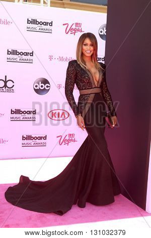 LAS VEGAS - MAY 22:  Laverne Cox at the Billboard Music Awards 2016 at the T-Mobile Arena on May 22, 2016 in Las Vegas, NV