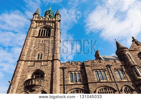 Presbyterian Church in Belfast. Belfast Northern Ireland United Kingdom.