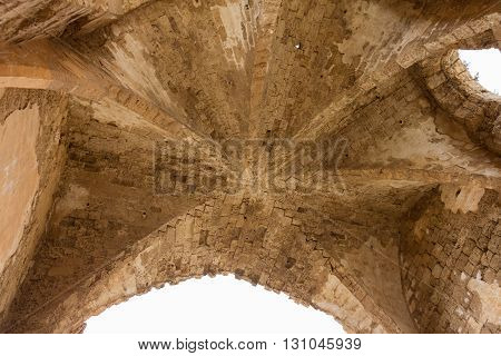 Roof Of Church Of St Mary Of The Carmelites, Famagusta, Cyprus