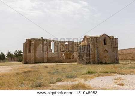 Ruins Of Carmelite And Armenian Churches In Medieval Famagusta, Cyprus