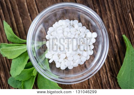 Portion Of Stevia Sweetener
