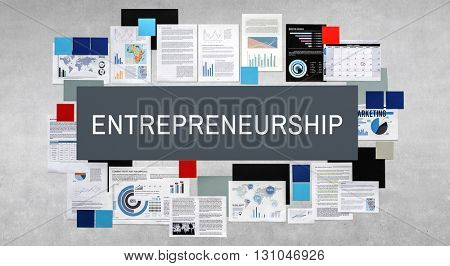 Entrepreneurship Business Dealer Enterprise Risk Concept