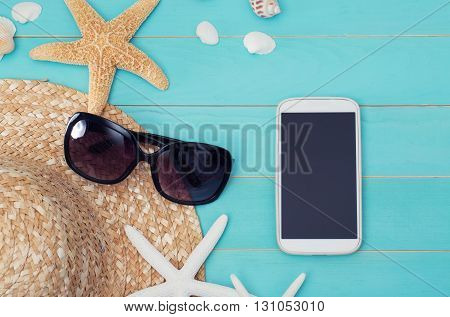 Summer Mobile Gadgets Theme