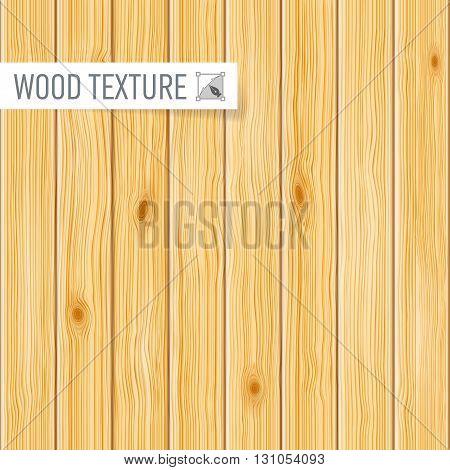 Seamless light wooden texture of a vertical planks