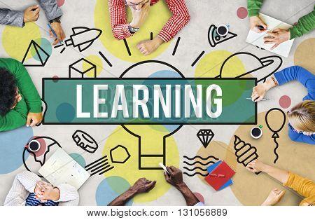 Learning Development Ideas Improvement Insight Concept