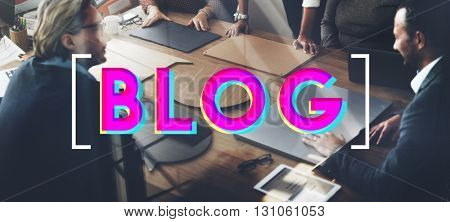 Blog Social Media Technology Online Concept
