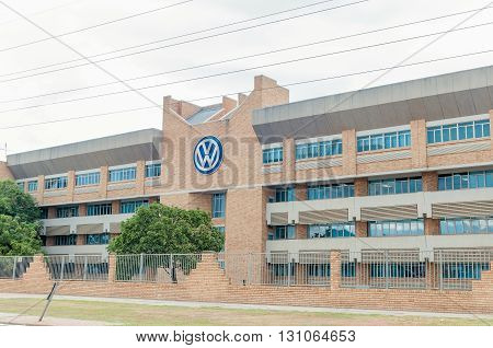 UITENHAGE SOUTH AFRICA - MARCH 7 2016: Office buildings at the Volkswagen factory in Uitenhage. The first vehicle was built here in 1951