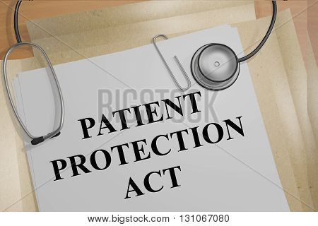 Patient Protection Act Medicial Concept