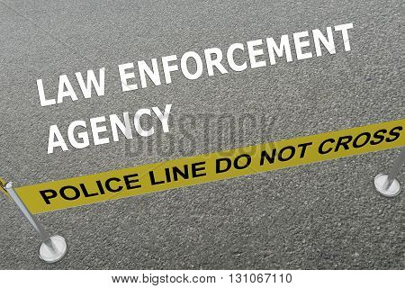 Law Enforcement Agency Concept
