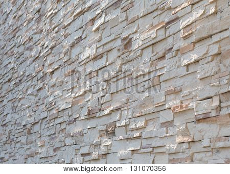Stone White Wall Texture Decorative Interior Wallpaper Background