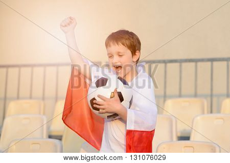 Little Boy - Polish Football Team Fan