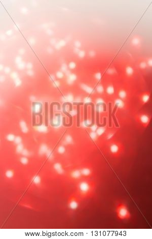 Red Background, Abstract Bokeh Light Celebration Blur Background