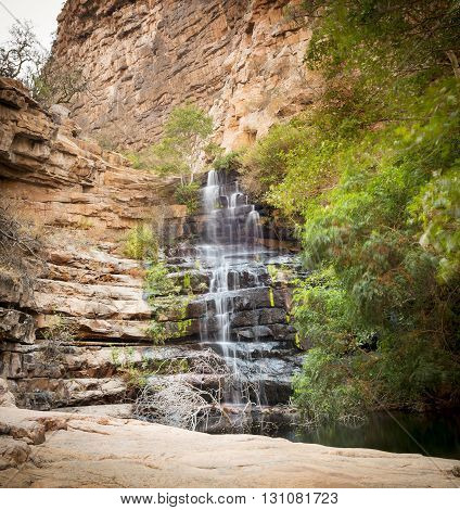 Moremi Gorge Waterfall Botswana