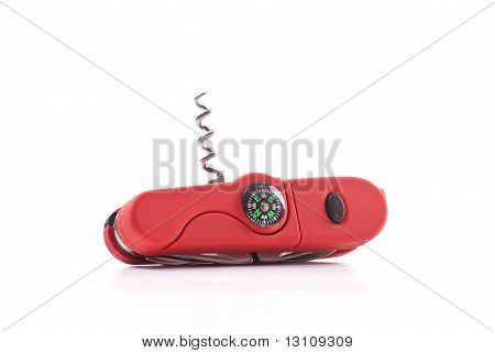 Utility Knife With Built In Compass