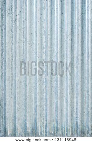 Galvanized iron wall plate background / Galvanized iron wall