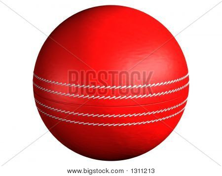 Cricket Ball Side On