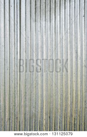 Galvanized iron wall plate background / Galvanized iron wall