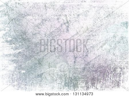 Textured background surface with bokeh circles and grunge edges