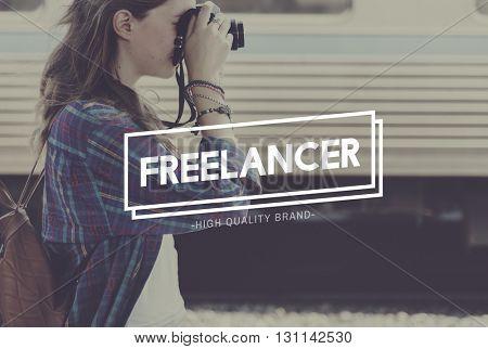 Freelancer Freelance Hobby Job Concept