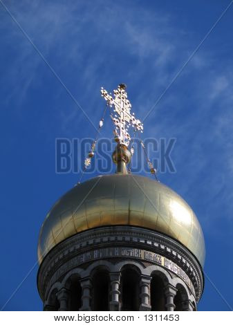 Dome Of The Saviour On Blood Cathedral.