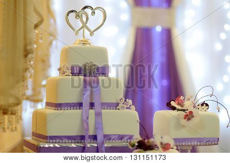 Tasty Wedding Multilayer Cake