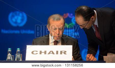 Turkish President Recep Tayyip Erdogan