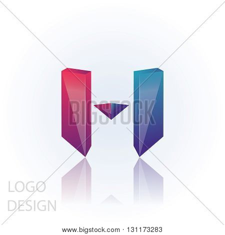 m letter logo design 100%vector easy to re edit and re-size up to your target