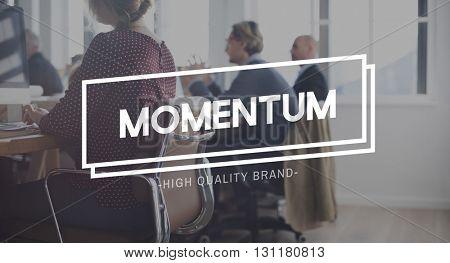 Momentum Mass Motion Speed Goal Motion Concept