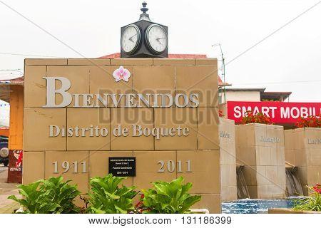 City Of Boquete In Panama
