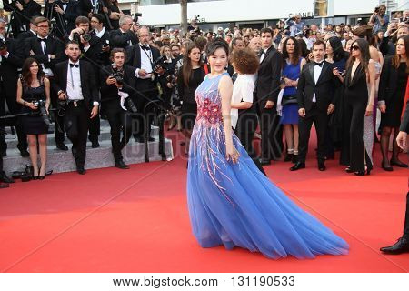 Ly Nha Kyser attends the Closing Ceremony of the 69th annual Cannes Film Festival at the Palais des Festivals on May 22, 2016 in Cannes, France.
