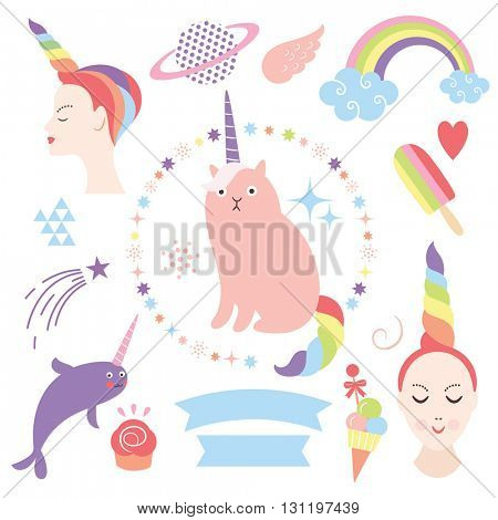 magic collection, cute unicorns