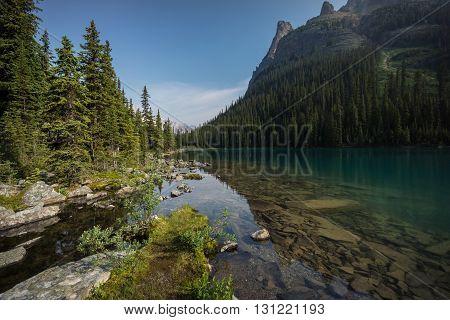 Lake O'Hara Canadian Rockies British Columbia Canada