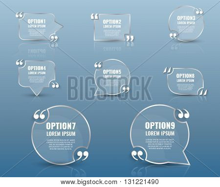 Frame for text.Website review quote citation blank template. Website review vector icon. Quote comment template. Quote bubble. Shop customer review template.