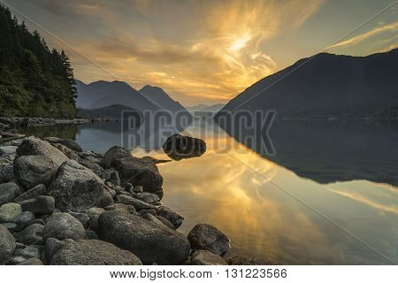 Alouette Lake Golden Ears Provincial Park Maple Ridge Vancouver British Columbia Canada