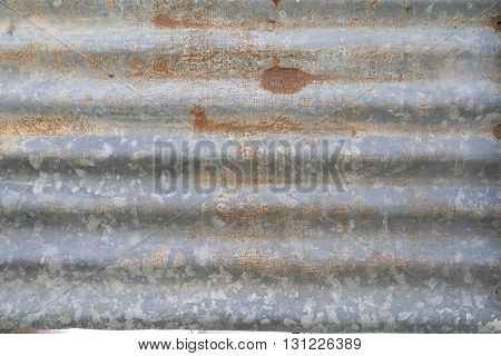 background old galvanized iron home rust frame