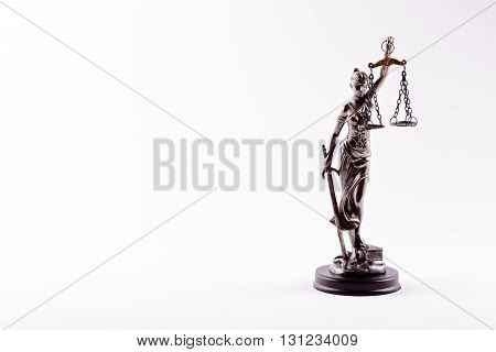 Themis - Statuette Of The Goddess Of Justice