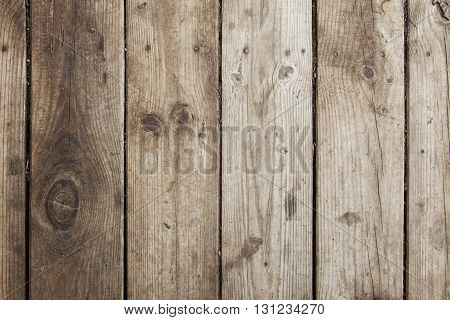 Old Wood Planking Background