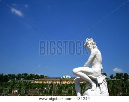 Statue At Schloss Sans Souci