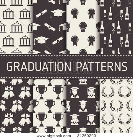 Graduation Seamless Pattern Collection