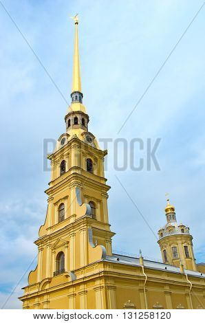 Peter And Paul Fortress, St. Petersburg, Russia