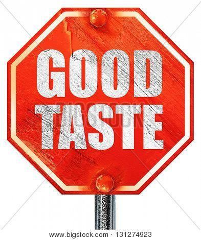 good taste, 3D rendering, a red stop sign