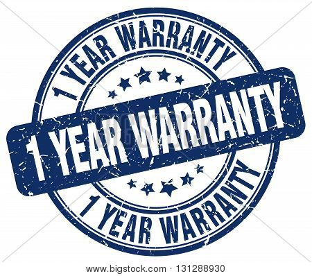 1 year warranty blue grunge round vintage rubber stamp.1 year warranty stamp.1 year warranty round stamp.1 year warranty grunge stamp.1 year warranty.1 year warranty vintage stamp.